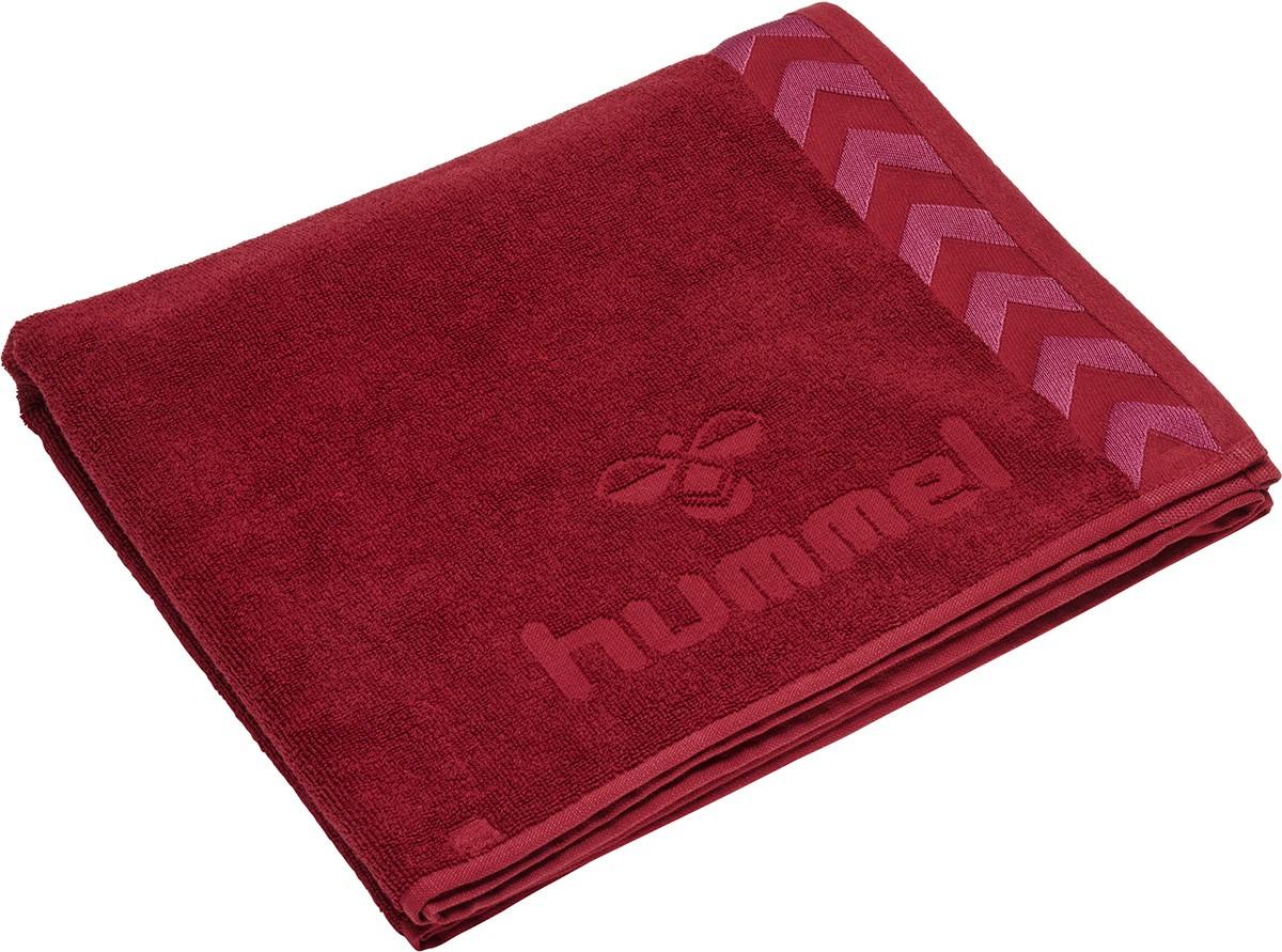 Hummel Large Towel Handtuch, rot Unisex 208-805-3583
