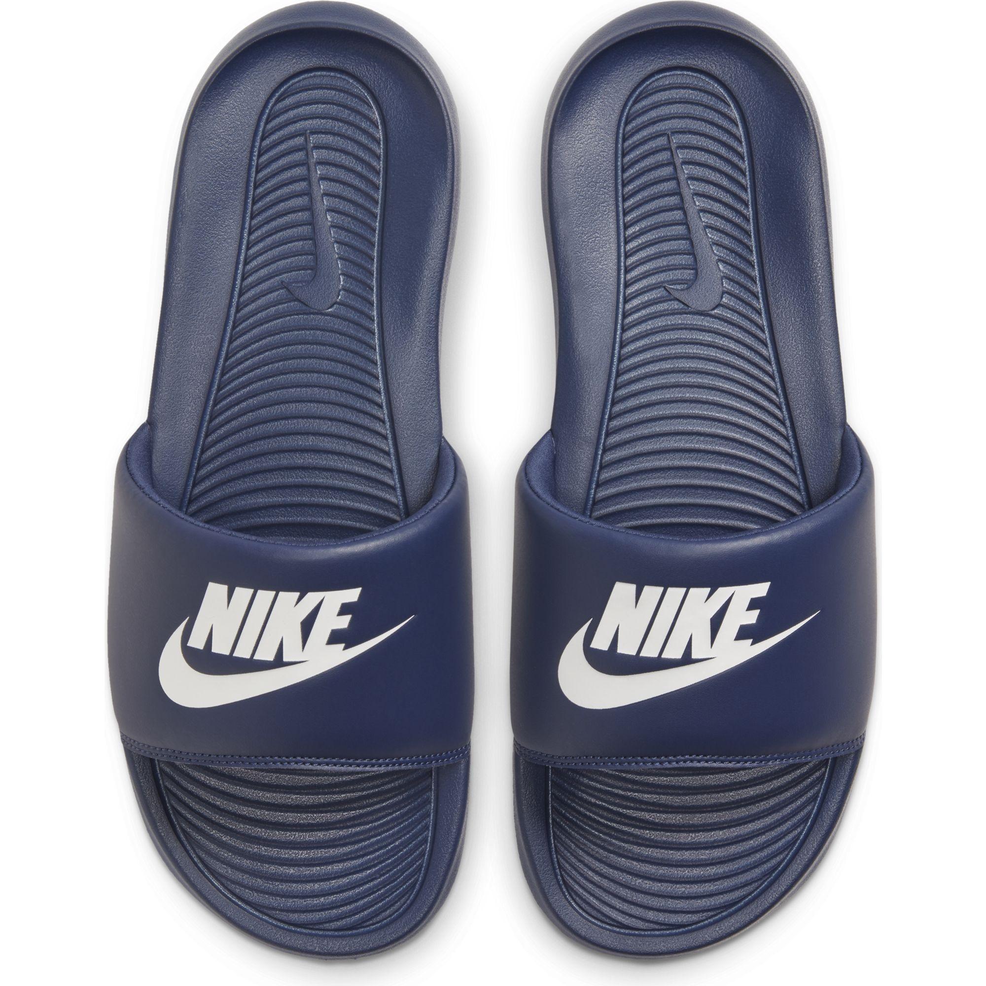 Nike Badeschuhe Victori One, blau, 45, Herren Herren CN9675-401
