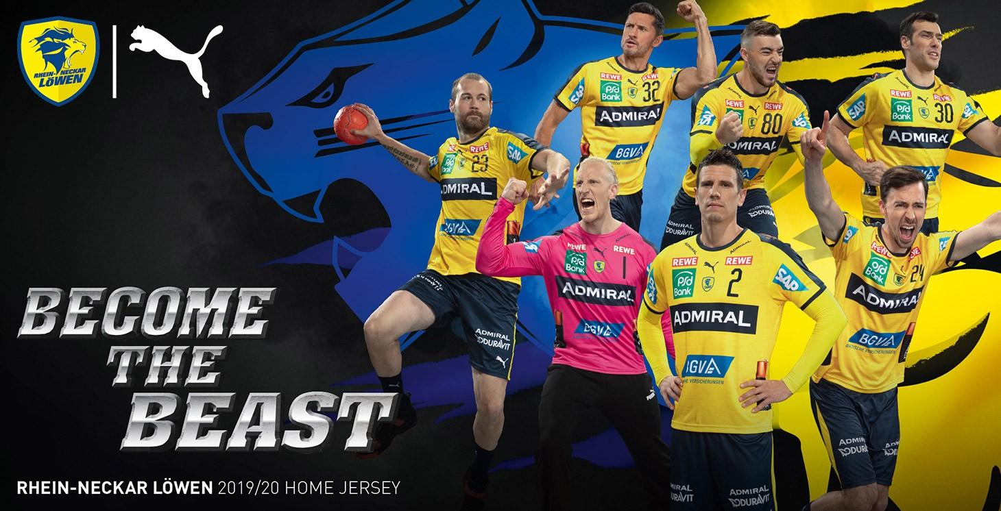Rhein-Neckar Lions Jersey 2019/20